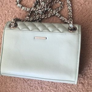 Rebecca minkoff mint green bag